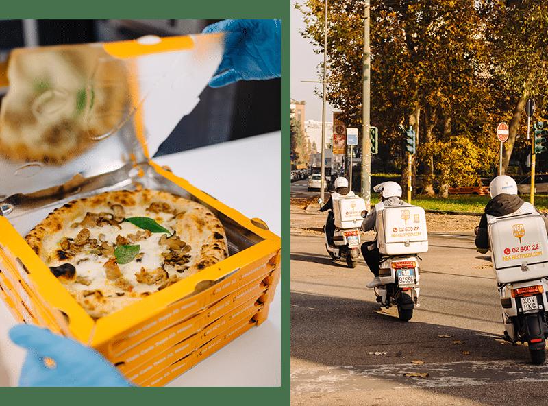 Driver consegna Pizza Domicilio Milano
