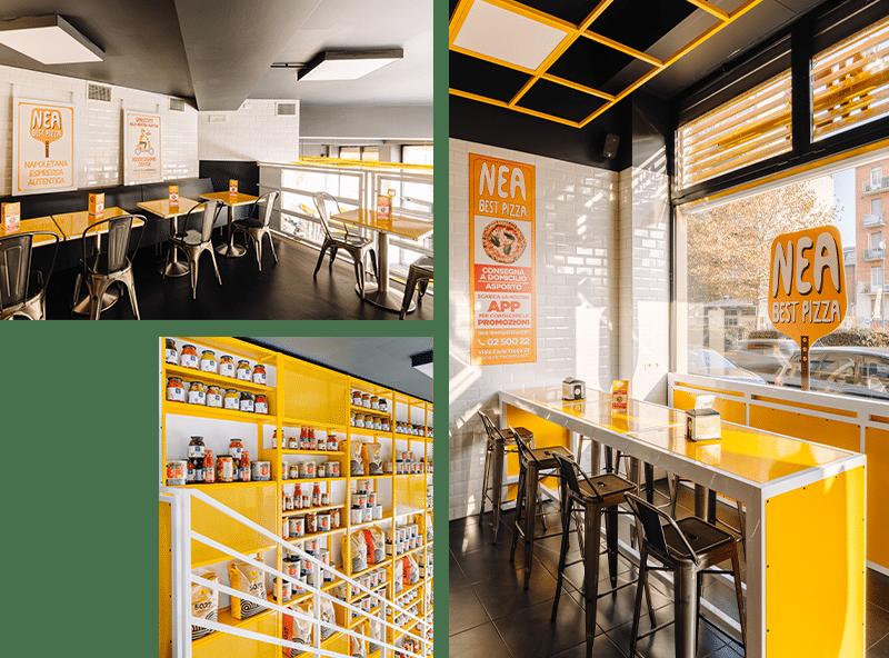 Pizzeria consumo sul posto a Milano